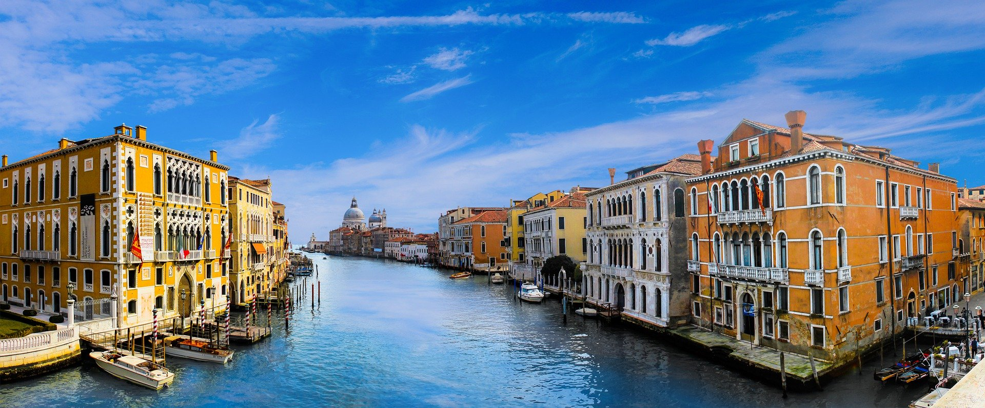 Why was Venice built on water?